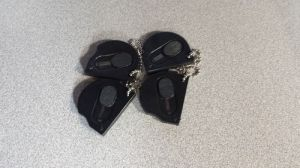 Black Keyring Pocket Knives